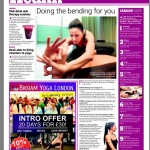 The Wharf Newspaper, Doing the bending for you, p.2