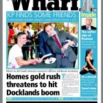 The Wharf Newspaper, Doing the bending for you, p.1