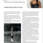 Your Docklands and City Magazine, Flexibility training, Pilates and Yoga