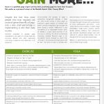 PT Magazine, Yoga more Gain more, p.1