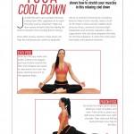 PT Magazine, Yoga Cool Down, p.1