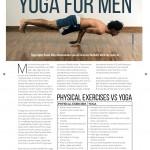 PT Magazine, Yoga For Men, p.1