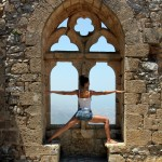 Yoga at St. Hilarion Castle